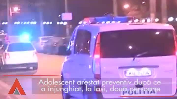 Un adolescent a înjunghiat, la Iaşi, două persoane