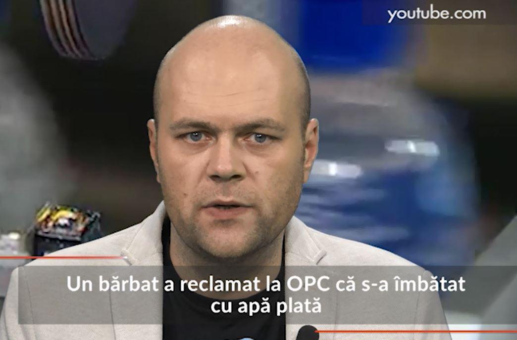 Un bărbat a reclamat la OPC că s-a îmbătat cu apă plată