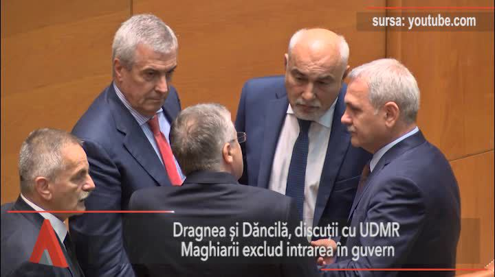 Dragnea şi Dăncilă, discuţii cu UDMR. Kelemen Hunor exclude intrarea în guvern
