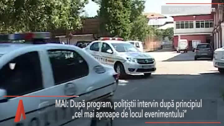 Un elev a intrat cu un pistol de jucărie într-un liceu din Arad