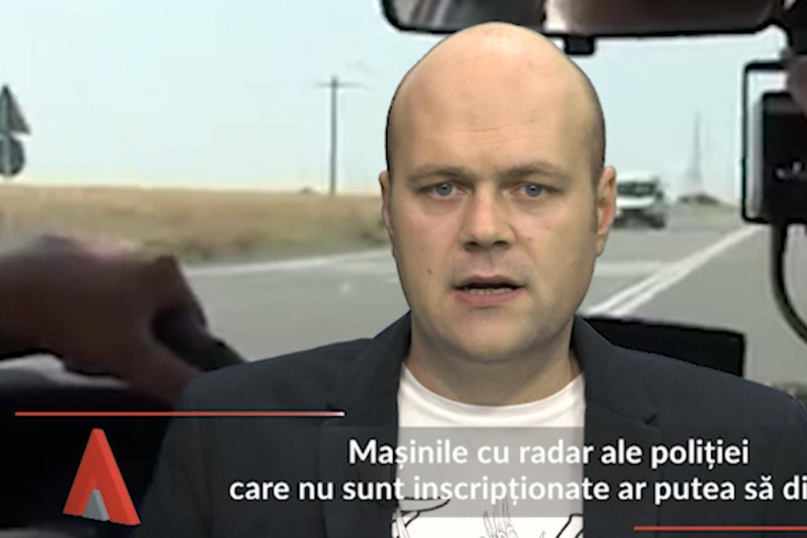 Maşinile cu radar ale poliţiei care nu sunt inscripţionate ar putea să dispară