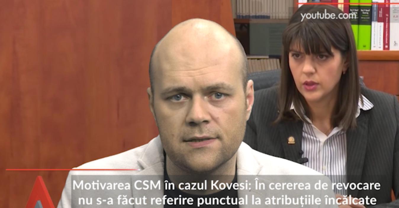 Motivarea CSM în cazul Kovesi. Mingea, în terenul lui Iohannis