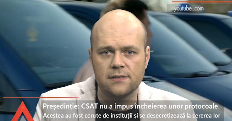 Preşedinţie: CSAT nu a impus încheierea unor protocoale. Acestea au fost cerute de instituţii