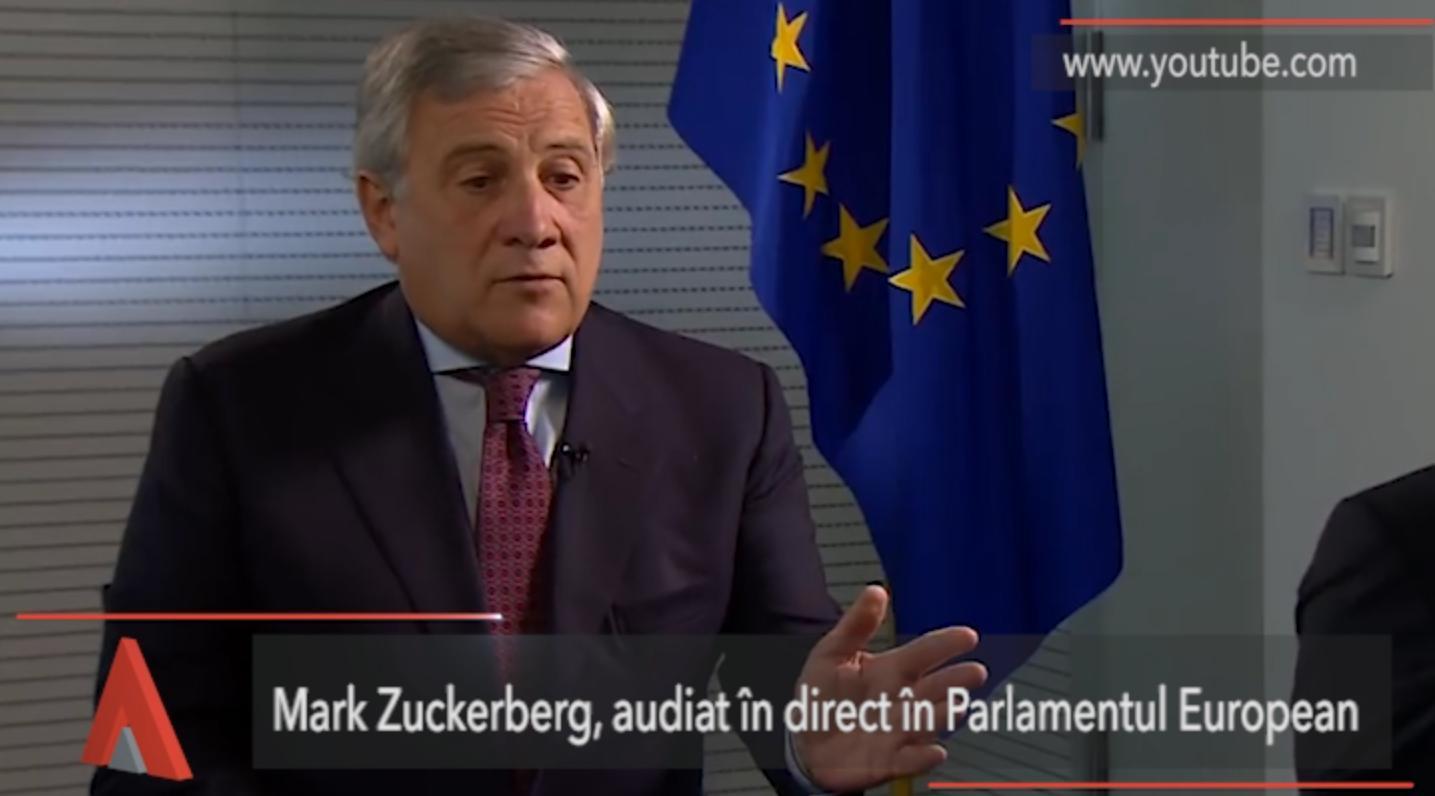 Mark Zuckerberg, audiat în Parlamentul European