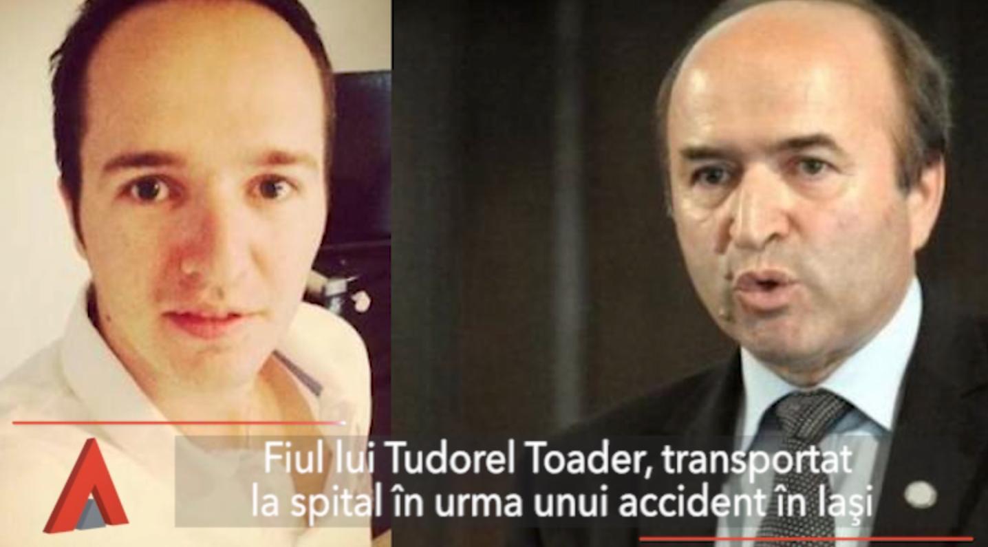 Fiul lui Tudorel Toader, implicat într-un accident rutier Mediafax Headlines