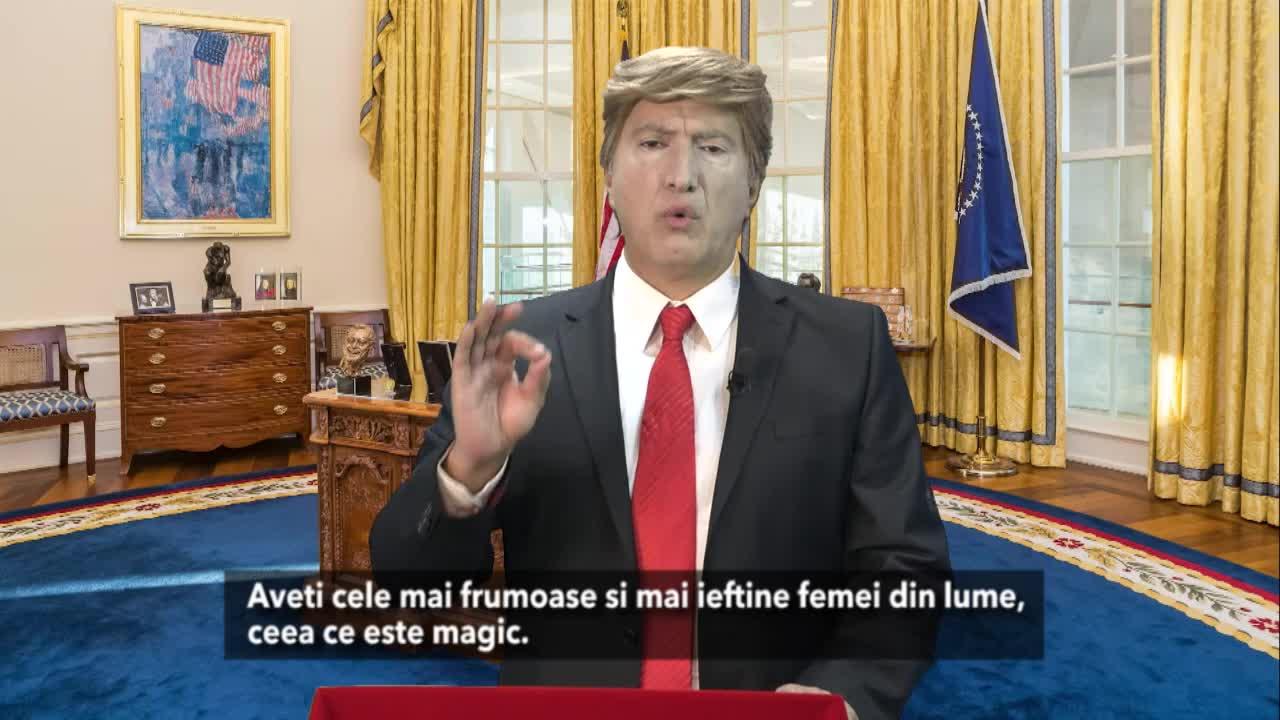 Mesajul special de Paşte către ROMÂNI al lui Donald Trump!