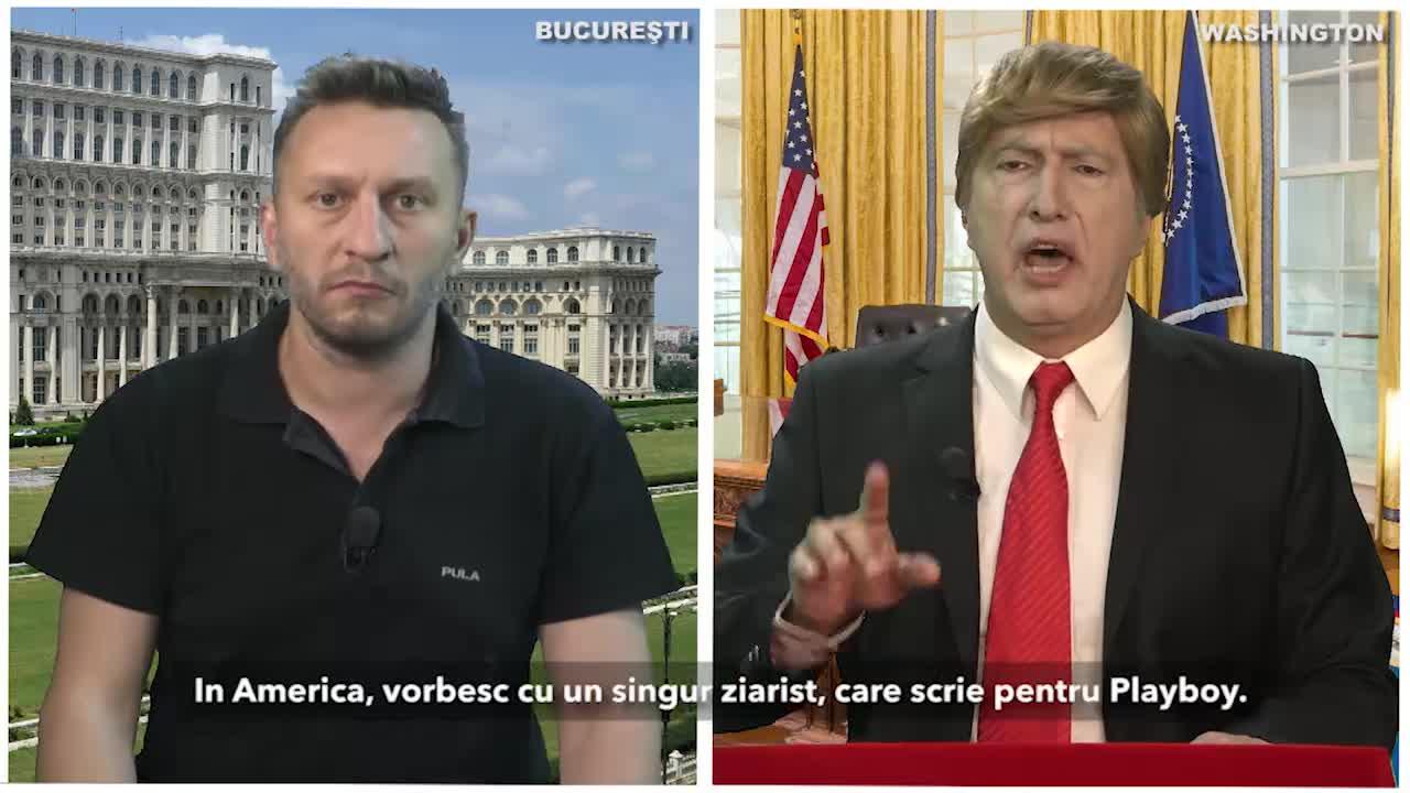 Tetelu, interviu cu Trump!