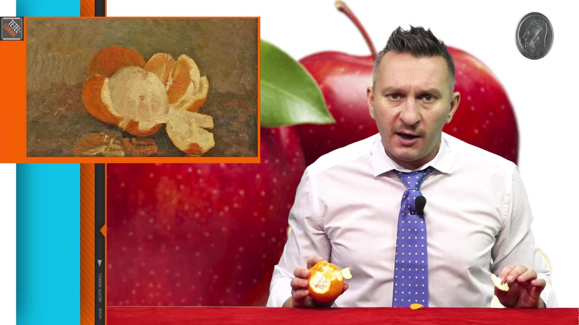 Tetelu  şi portocalele
