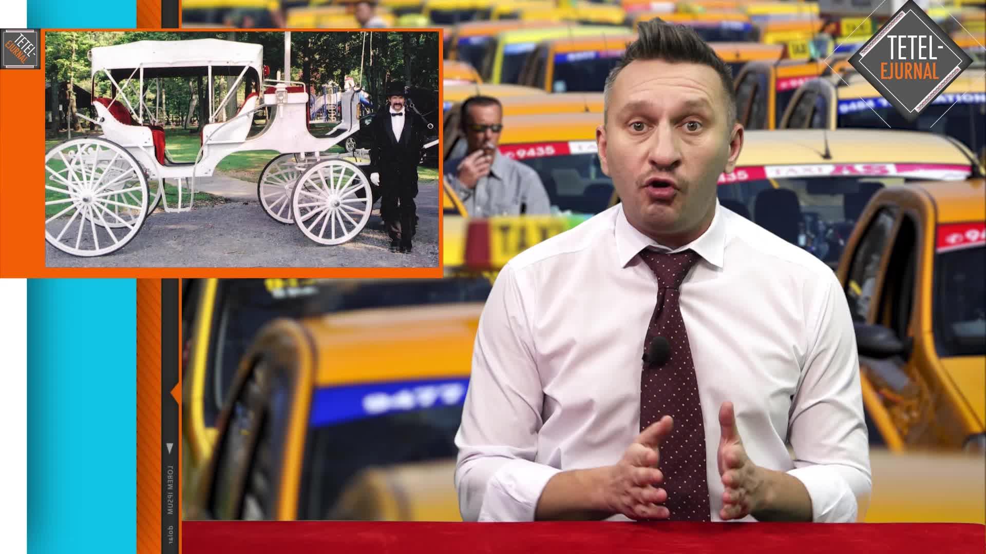 Tetelu şi protest taximetristi uber