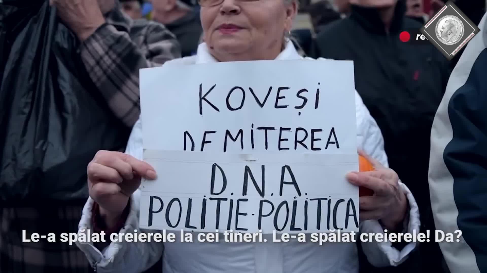 Tetelu si protestele de la Cotroceni