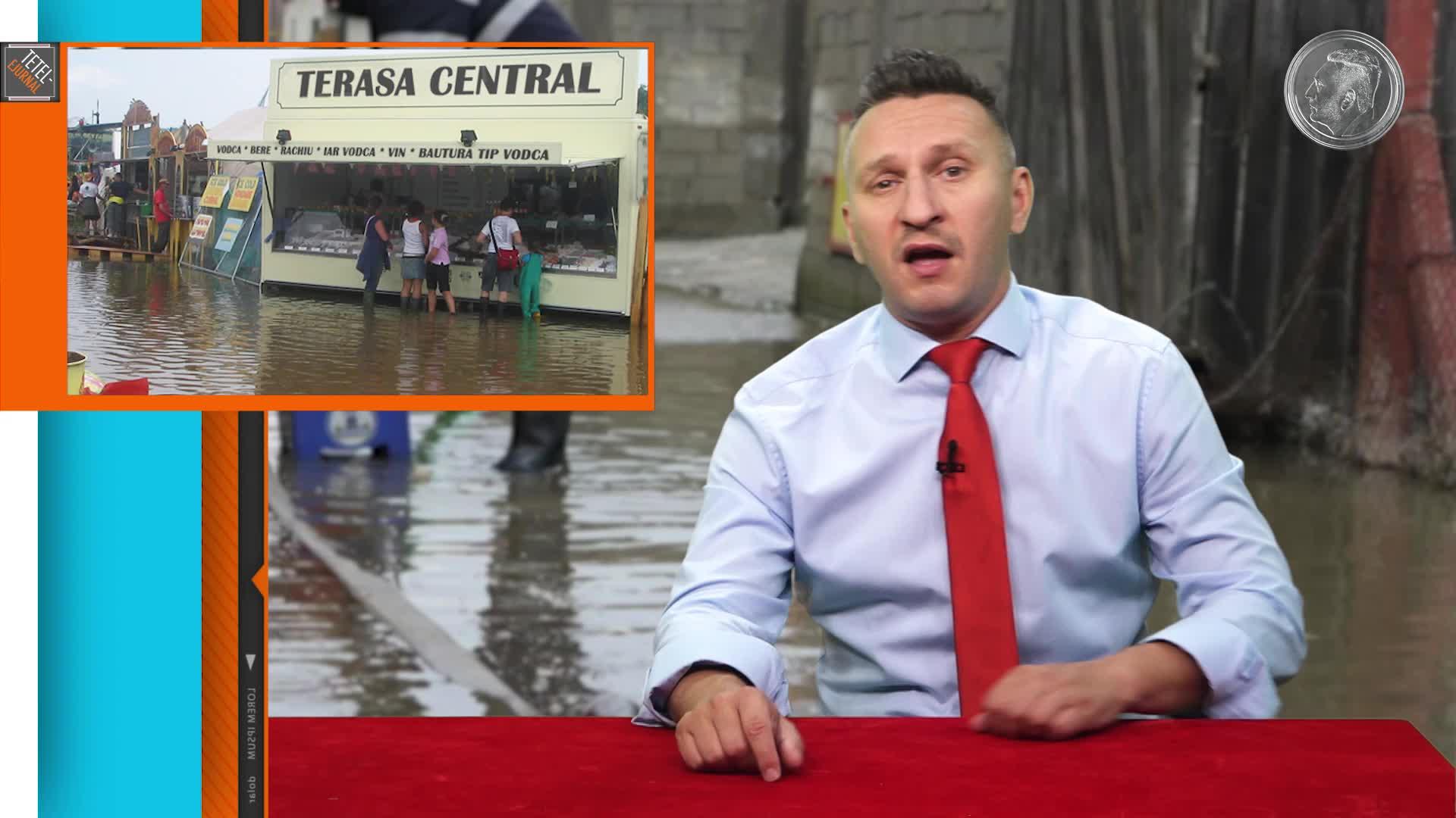 Tetelu şi inundaţiile