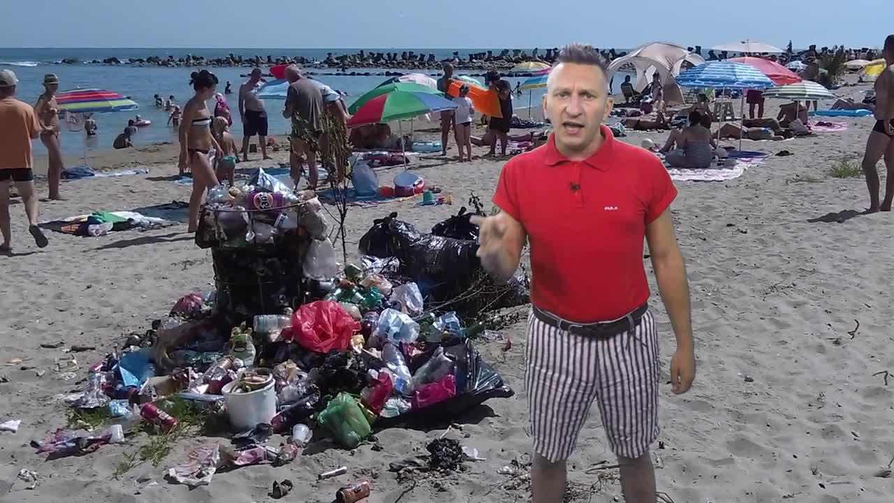 Tetelu şi mizeria de pe litoralul românesc