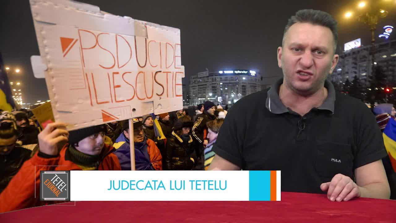 Judecata lui Tetelu: Protestele