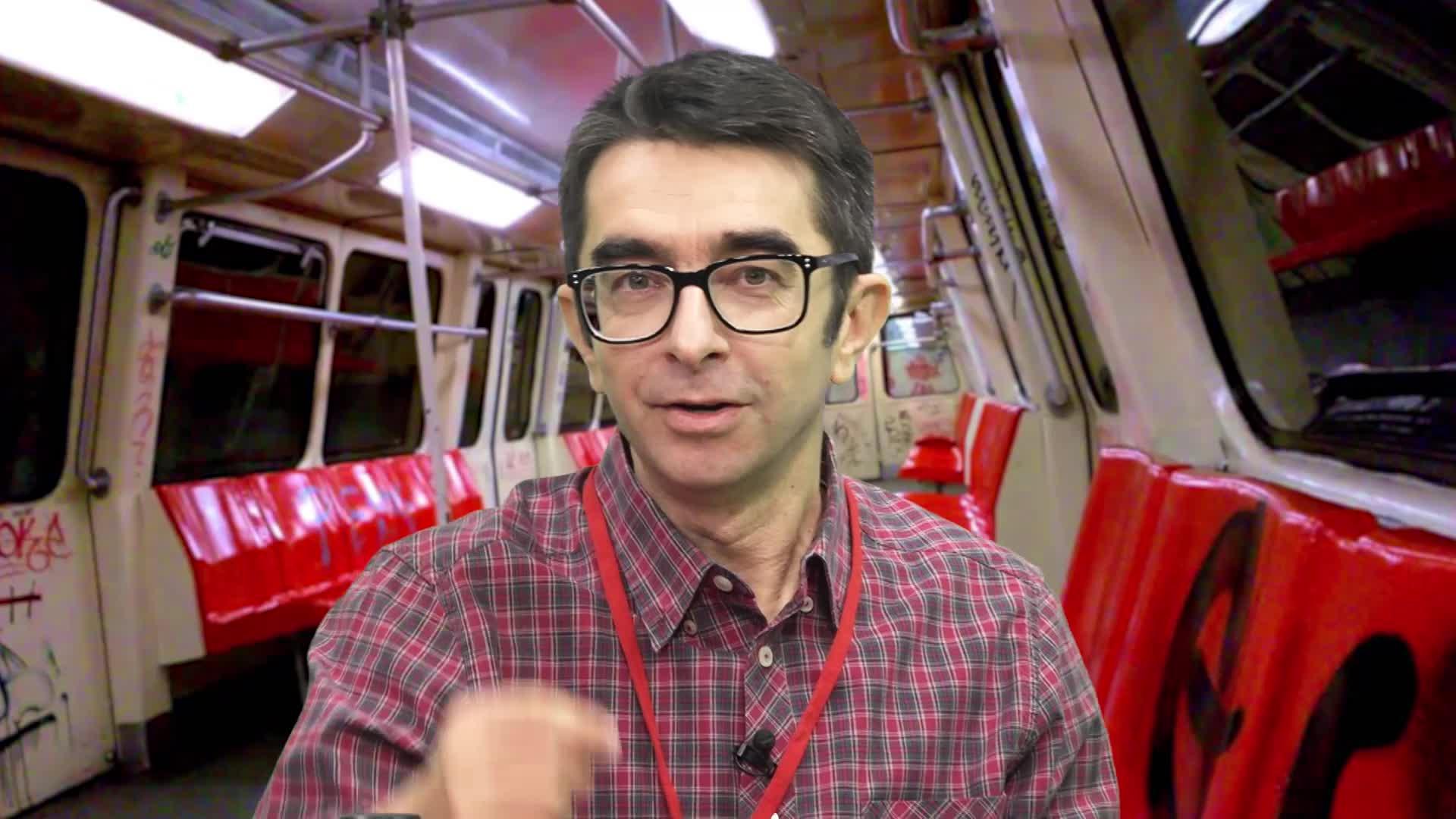 Găinuşă şi metroul