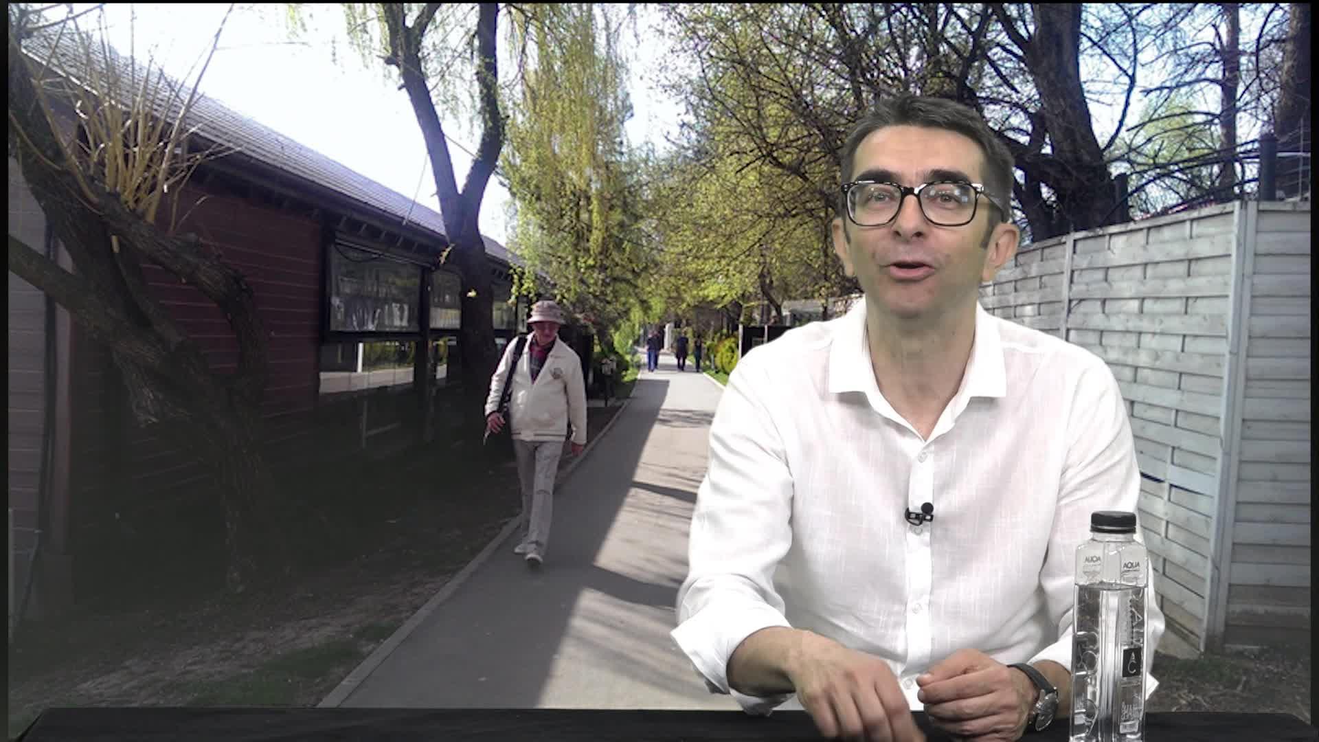 Găinuşă şi restaurantele în parcuri