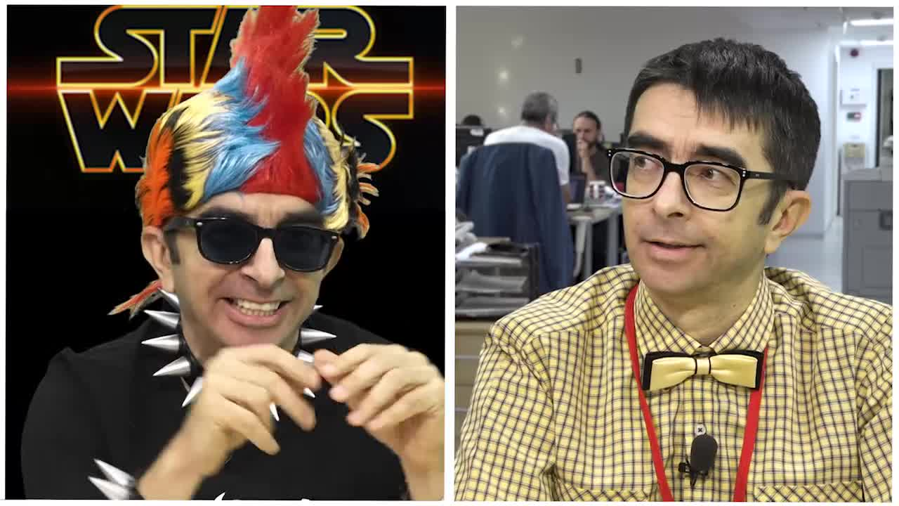 Găinuşă şi Star Wars