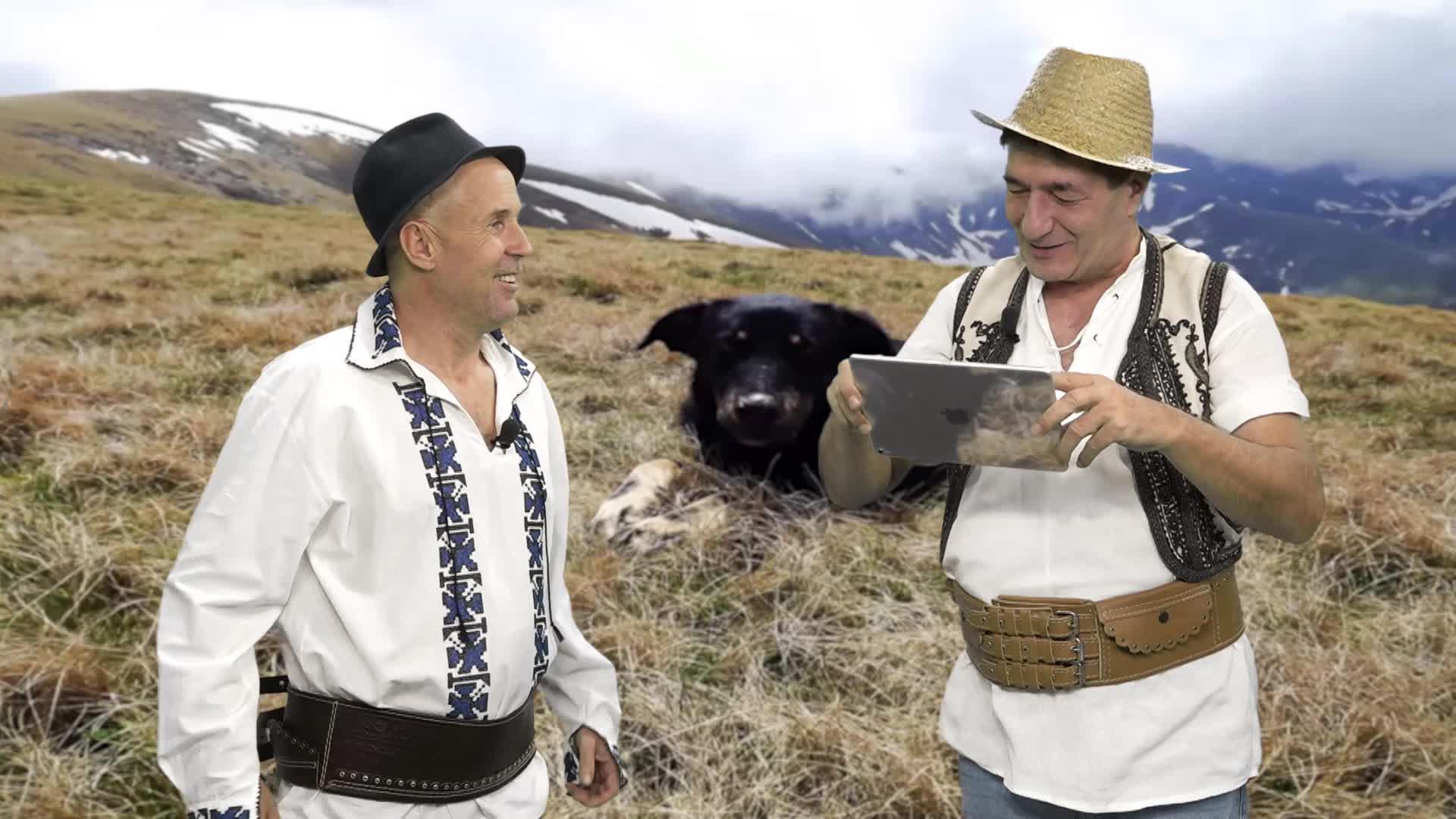 Ciobanii - Dronă peste sat