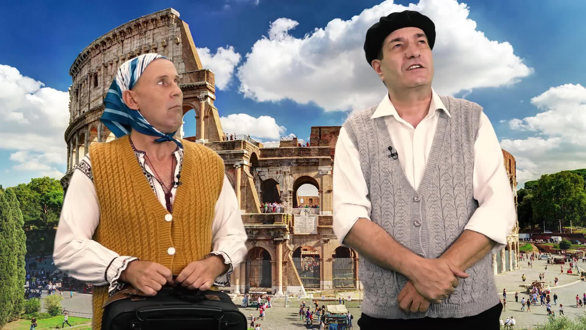 Leana şi Costel - Italia