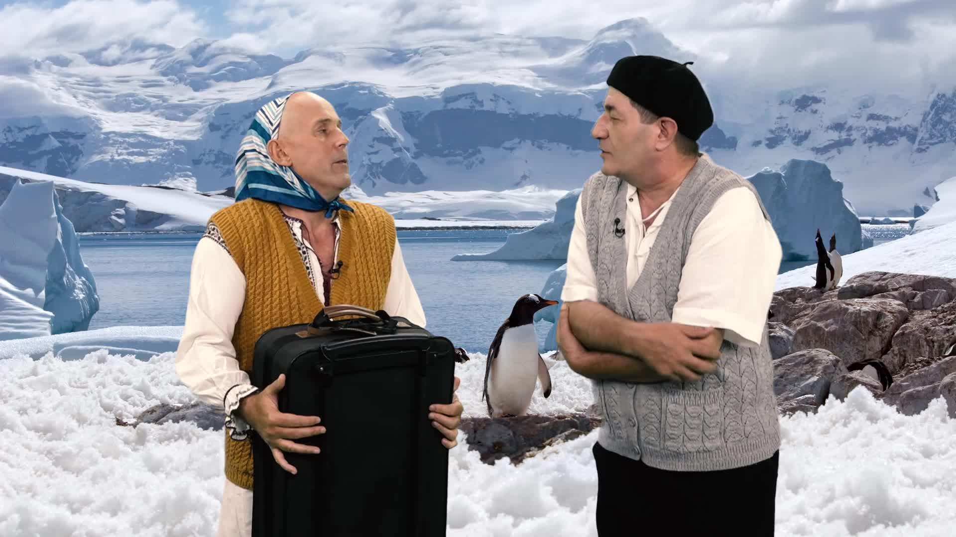 Leana şi Costel - Polul Nord