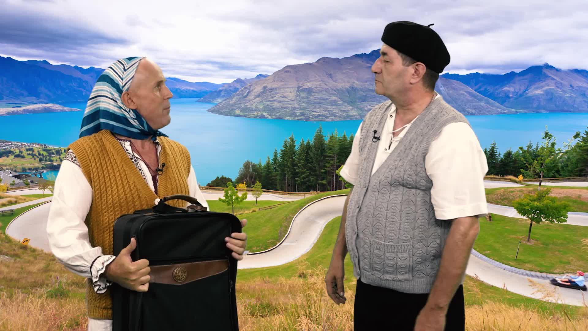 Leana şi Costel - Noua Zeelandă