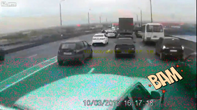 Camion fără frâne? Carmaggedon! VIDEO