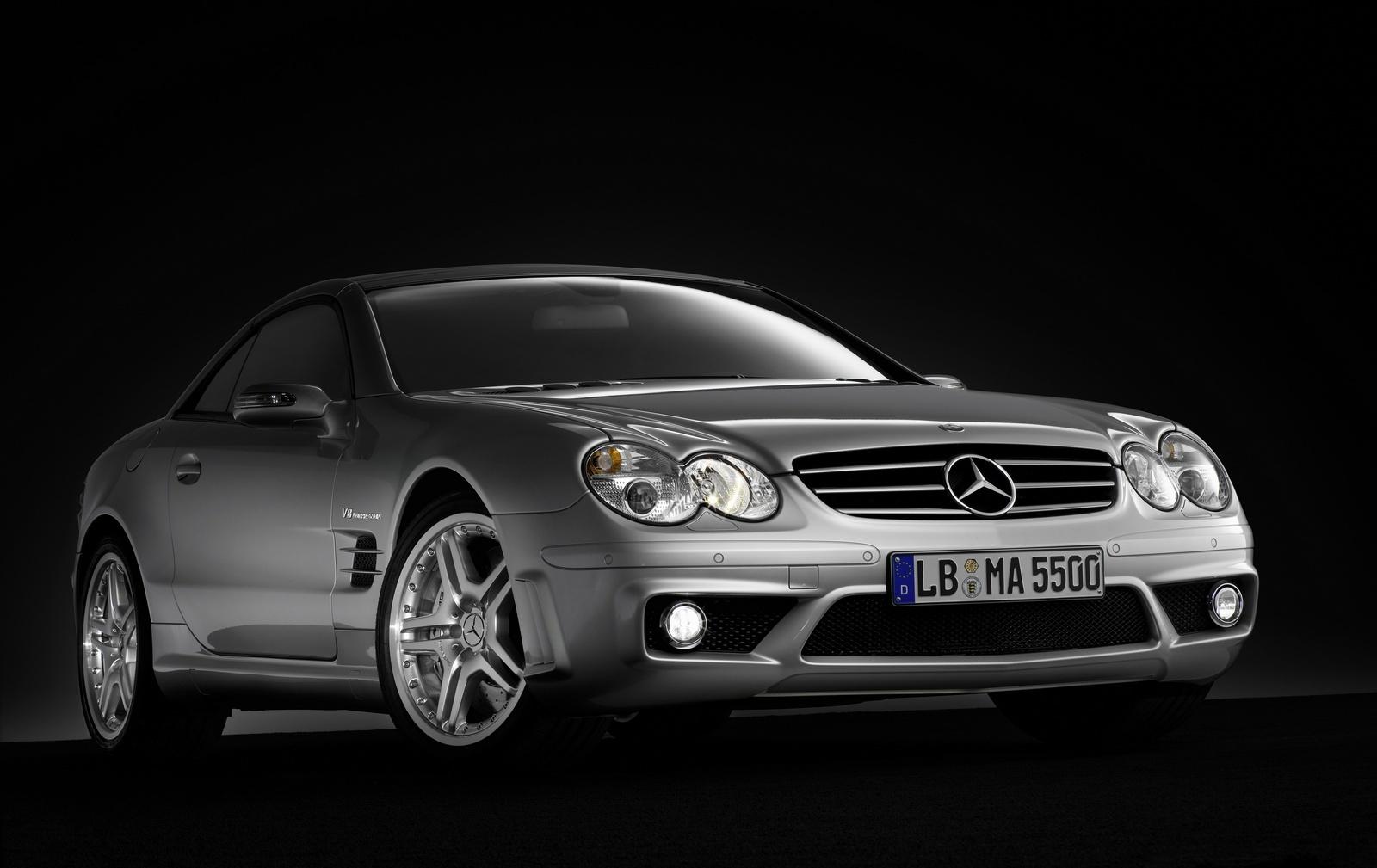 Mercedes SL 55 AMG pentru spanioli imblanziti
