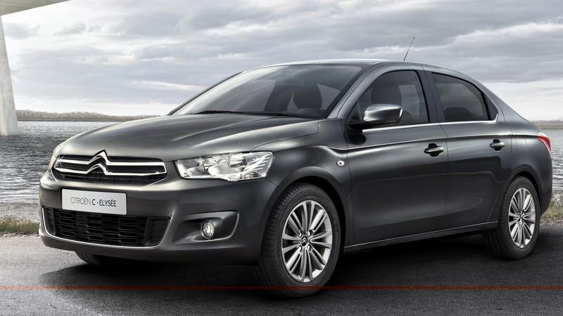 Citroën C-ÉLYSÉE, primele imagini şi informaţii