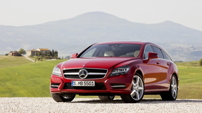 Mercedes-Benz CLS Shooting Brake. Galerie FOTO