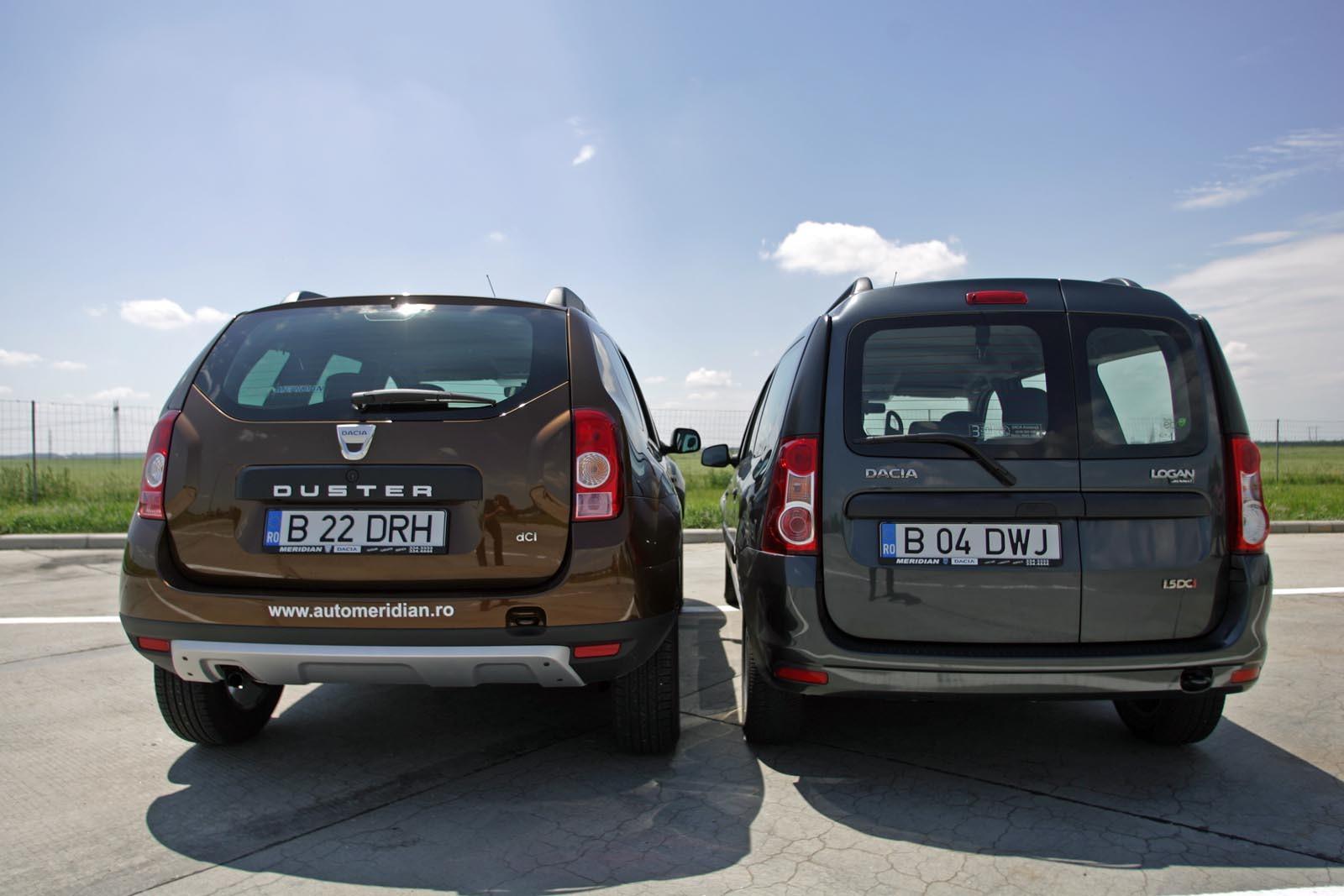Dacia Logan Duster. RE: Duster vs .