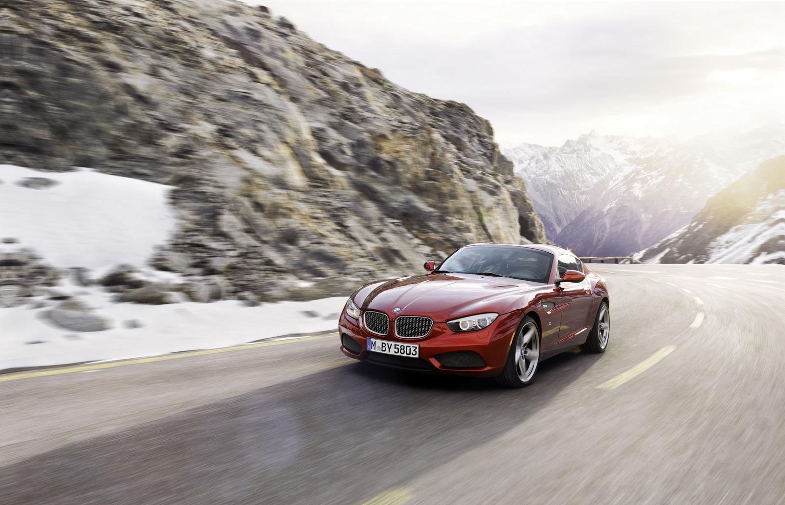 BMW Zagato Coupe, un Z4 in haine de gala