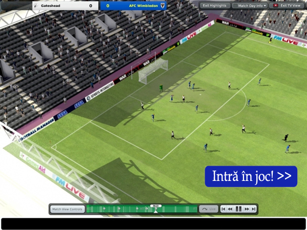 Football Manager 2011 pe go4it.ro