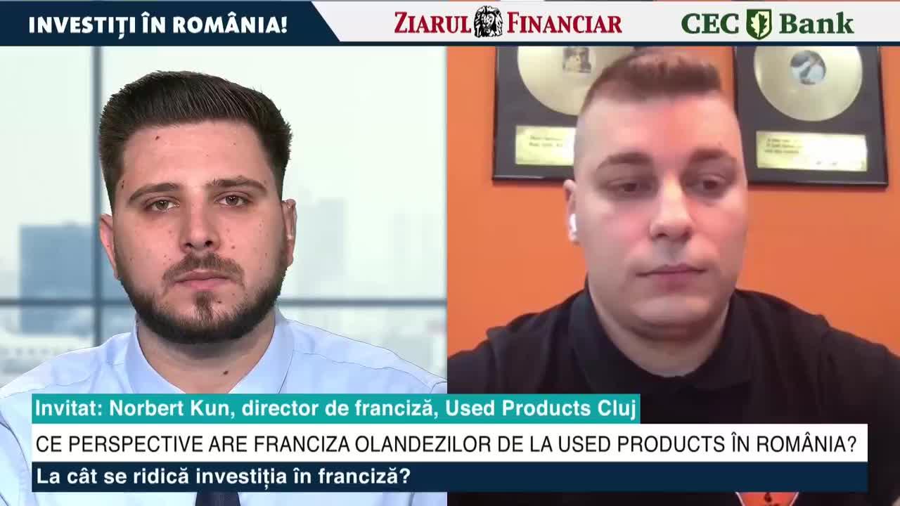 ZF Investiţi în România! Norbert Kun, director de franciză, Used Products:  Vom deschide a doua locaţie în regim propriu în Cluj-Napoca şi suntem în  discuţii cu viitorii francizaţi