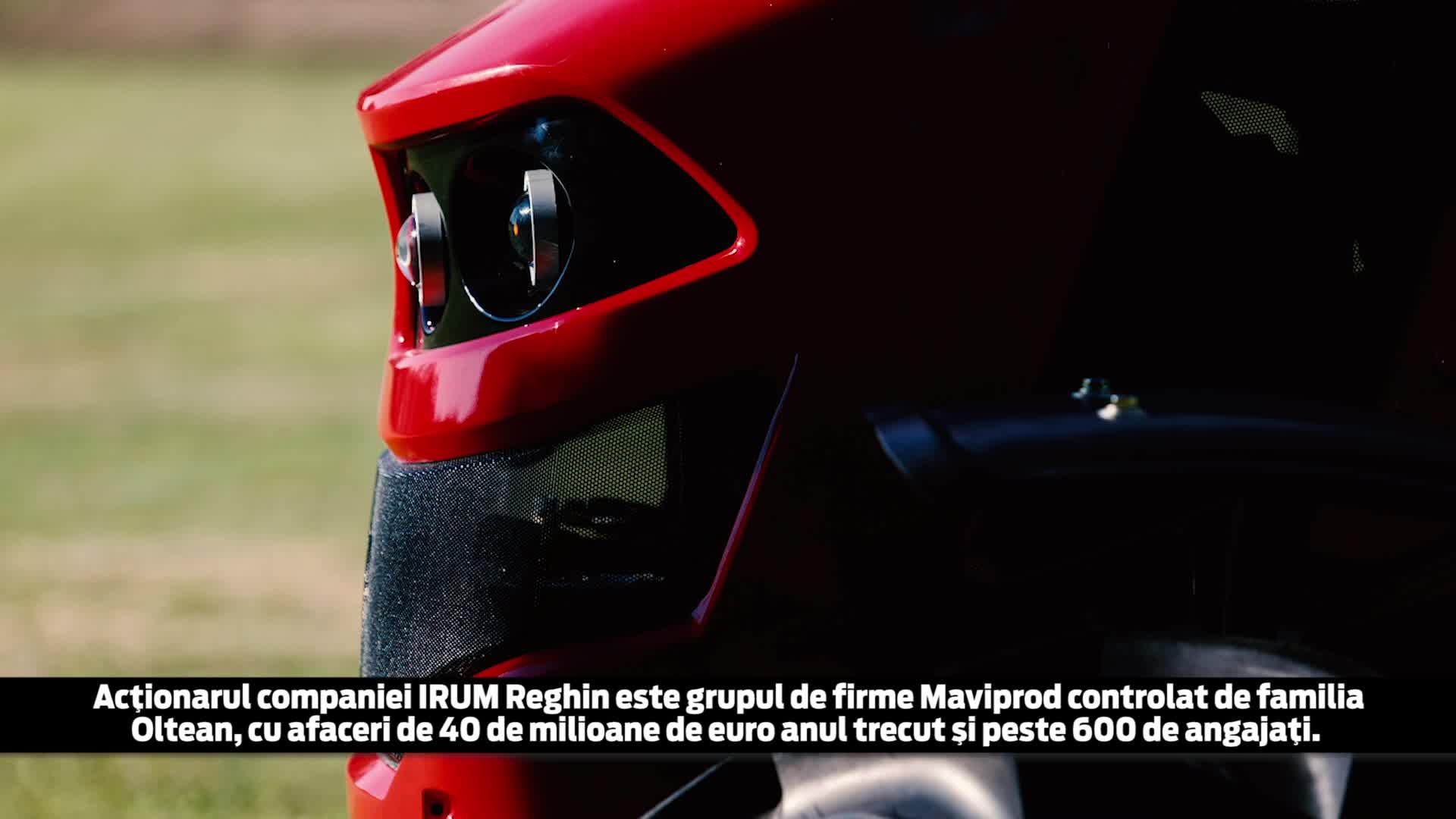 """Cât costă şi cum arată primul tractor """"made in România"""" după o pauză de 10 ani. Are inclusiv comenzi prin radio şi aer condiţionat - VIDEO"""