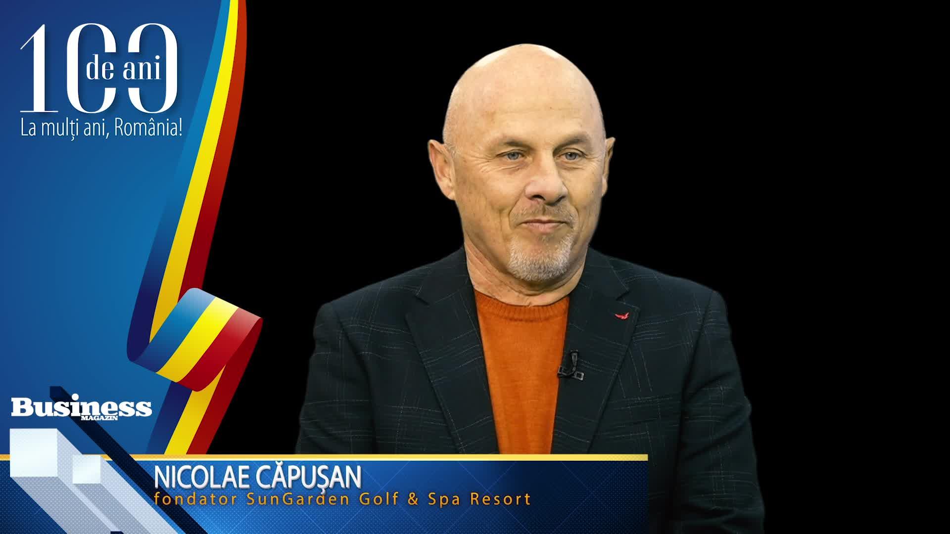 """Nicolae Căpuşan, fondator SunGarden Golf & Spa Resort: """"Afaceri în România: artă şi aventură!"""" - VIDEO"""