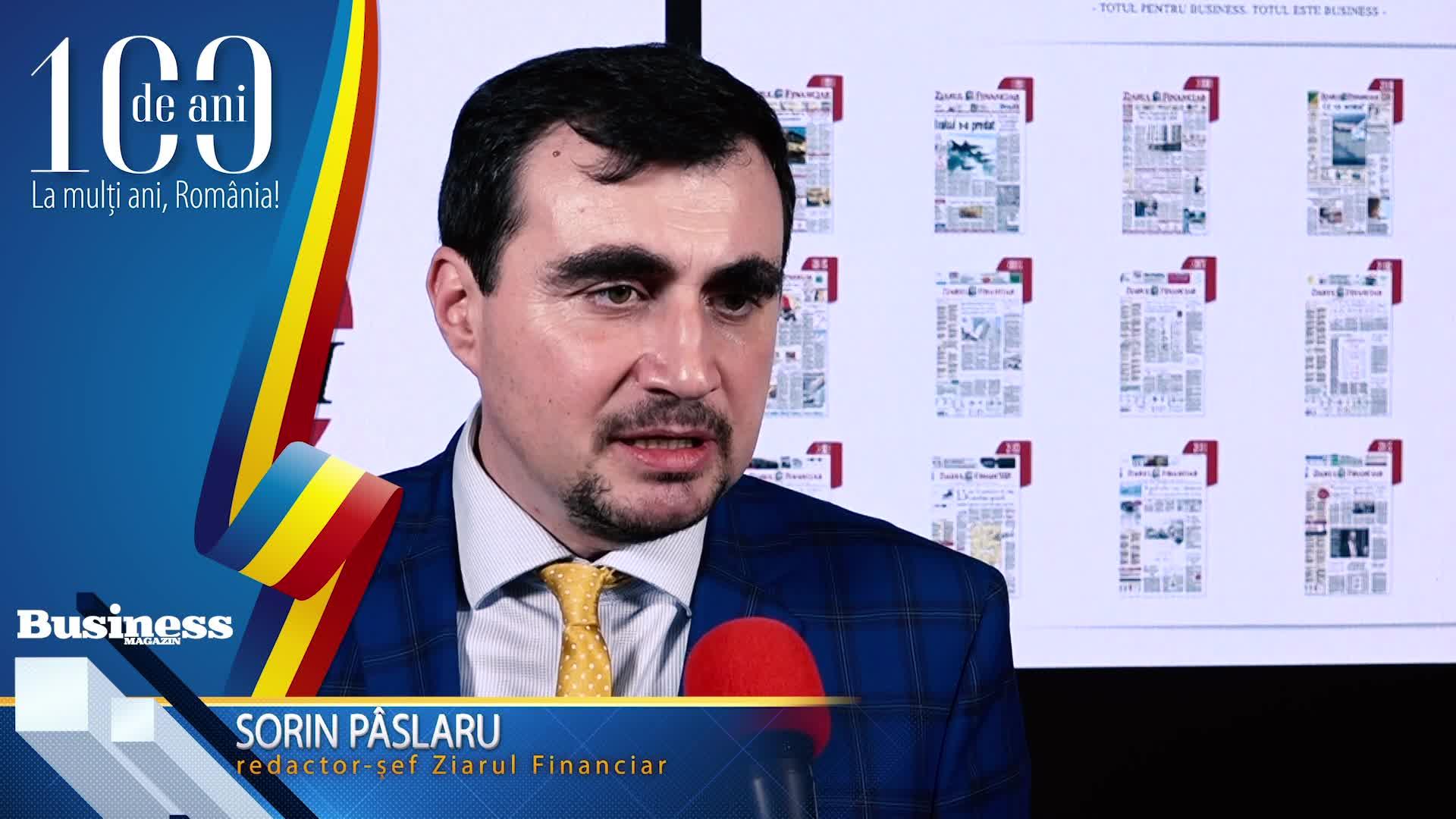 """Sorin Pâslaru, redactor-şef Ziarul Financiar: """"Cred că nu este diferit să faci afaceri în România faţă de orice altă ţară!"""" - VIDEO"""